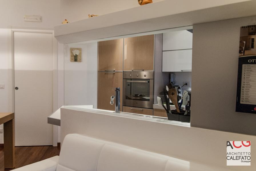 Arredare Soggiorno Con Cucina A Vista. Simple Arredamento ...